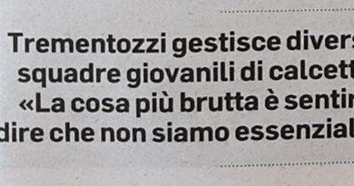 """Sportivi in piazza:""""Chiediamo solo di lavorare"""" (Da Il Corriere Adriatico"""